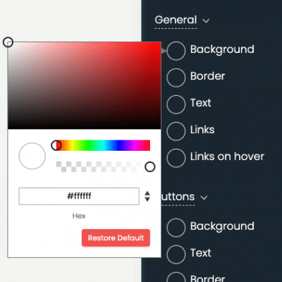 print screen of timely dashboard calendar color settings